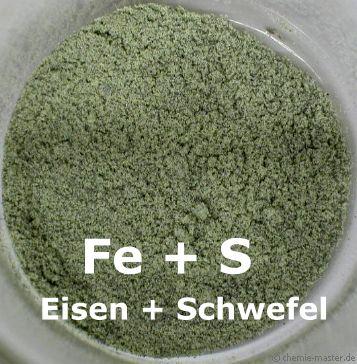 bildung von eisensulfid chemie website f r den chemieunterricht. Black Bedroom Furniture Sets. Home Design Ideas