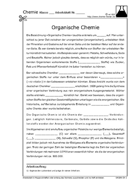 Fine Chemie Arbeitsblatt Composition - Kindergarten Arbeitsblatt ...